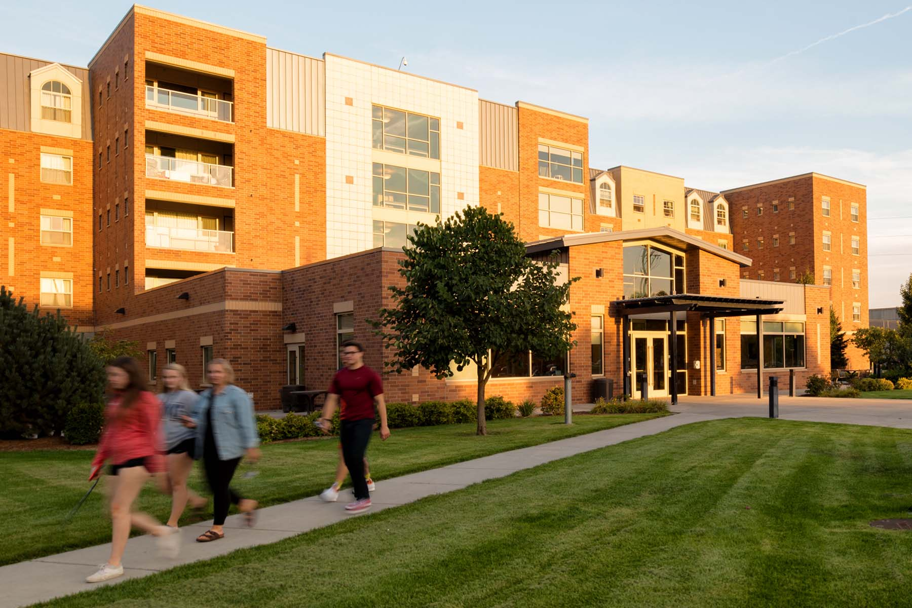 Gonzaga University <br/> B.J. Coughin Residence Hall