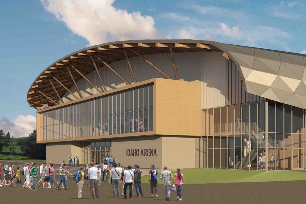 Beautiful MW Consulting Engineers Is A Proud Member Of The Winning Team For The  University Of Idahou0027s Anticipated Idaho Arena. Home Design Ideas