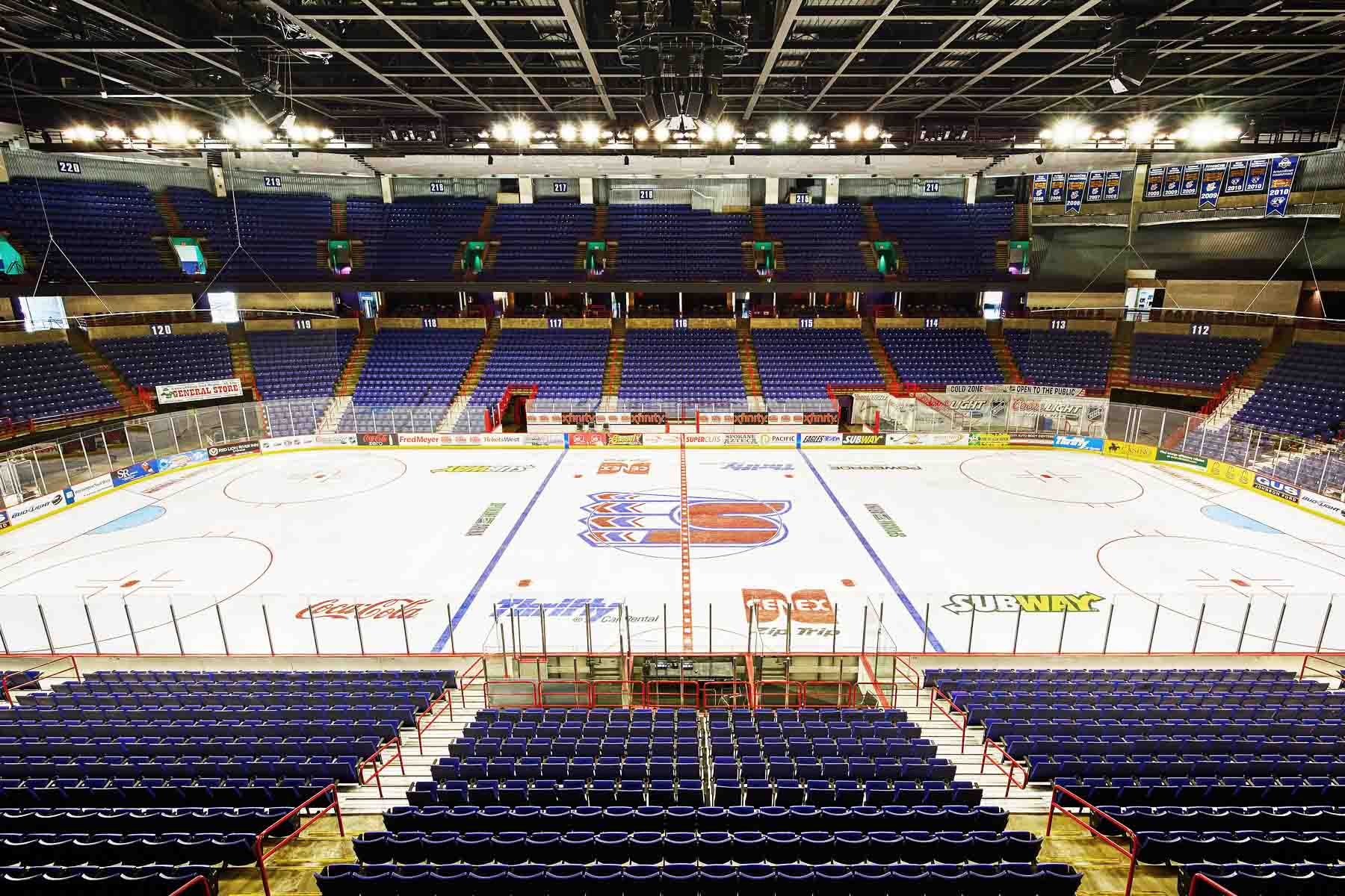 Spokane Veterans Memorial Arena </BR> Lighting Renovation