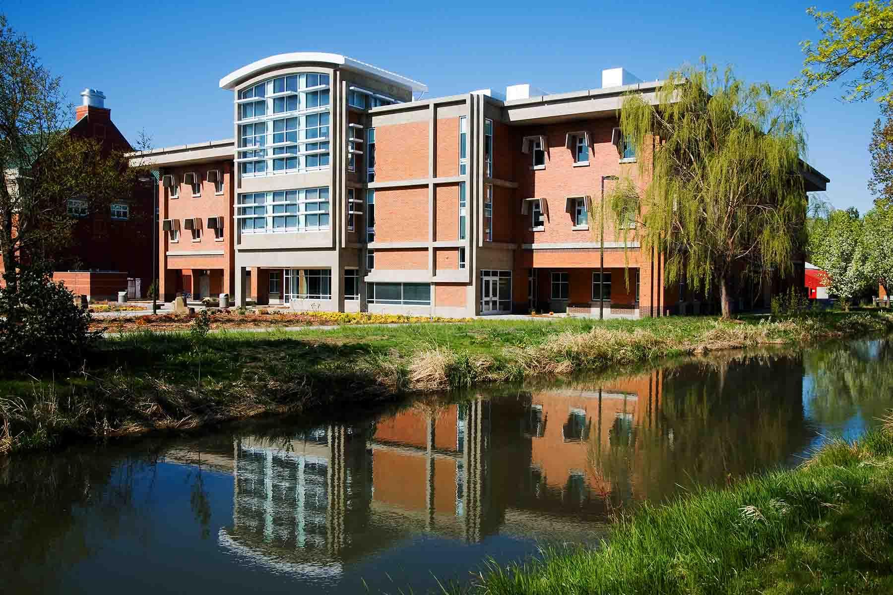 Central Washington University <br/> Dean Hall Laboratory + Classroom Facility <br/> Addition + Renovation