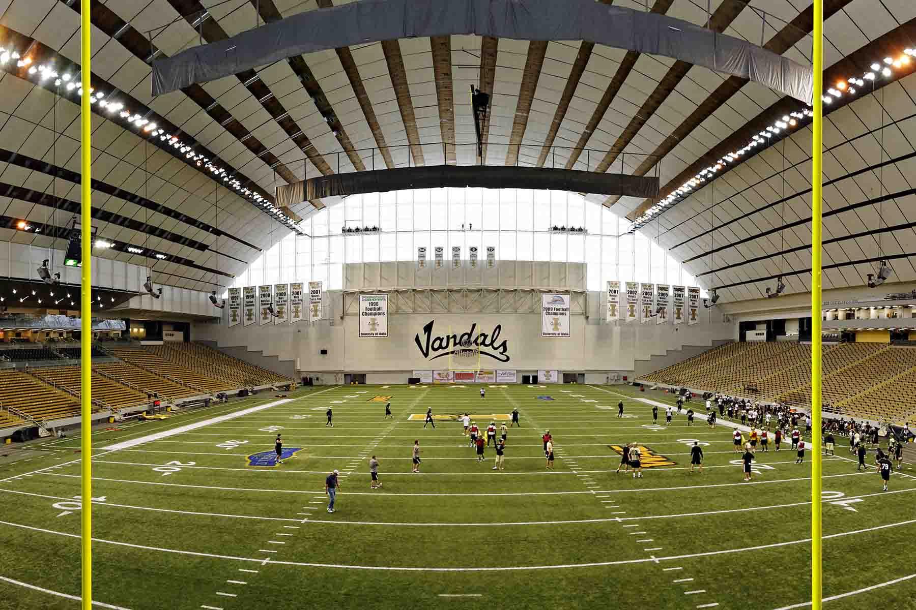 University of Idaho Kibbie Dome Renovation - MW Engineers