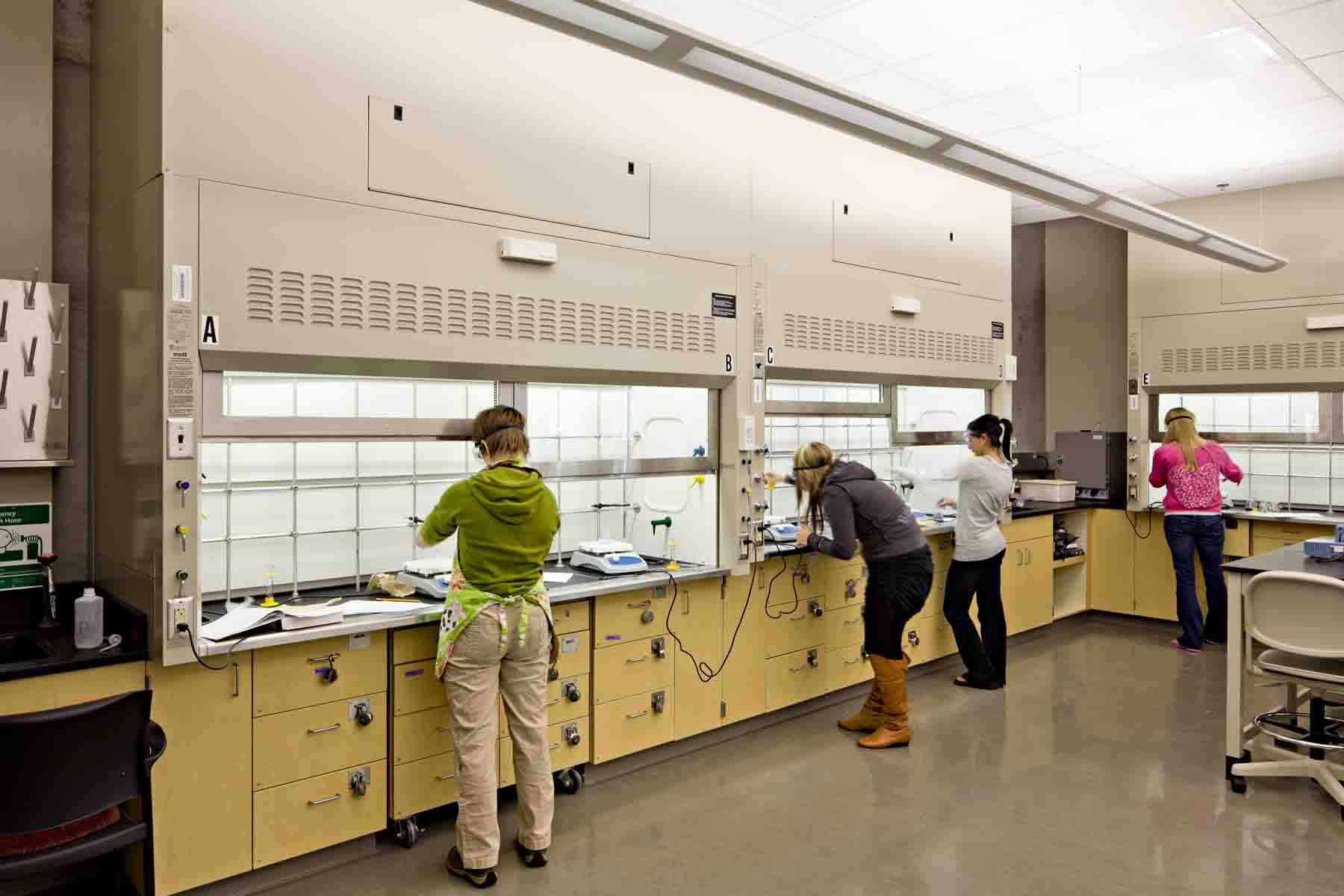 Spokane Falls Community College <br/> Science Building