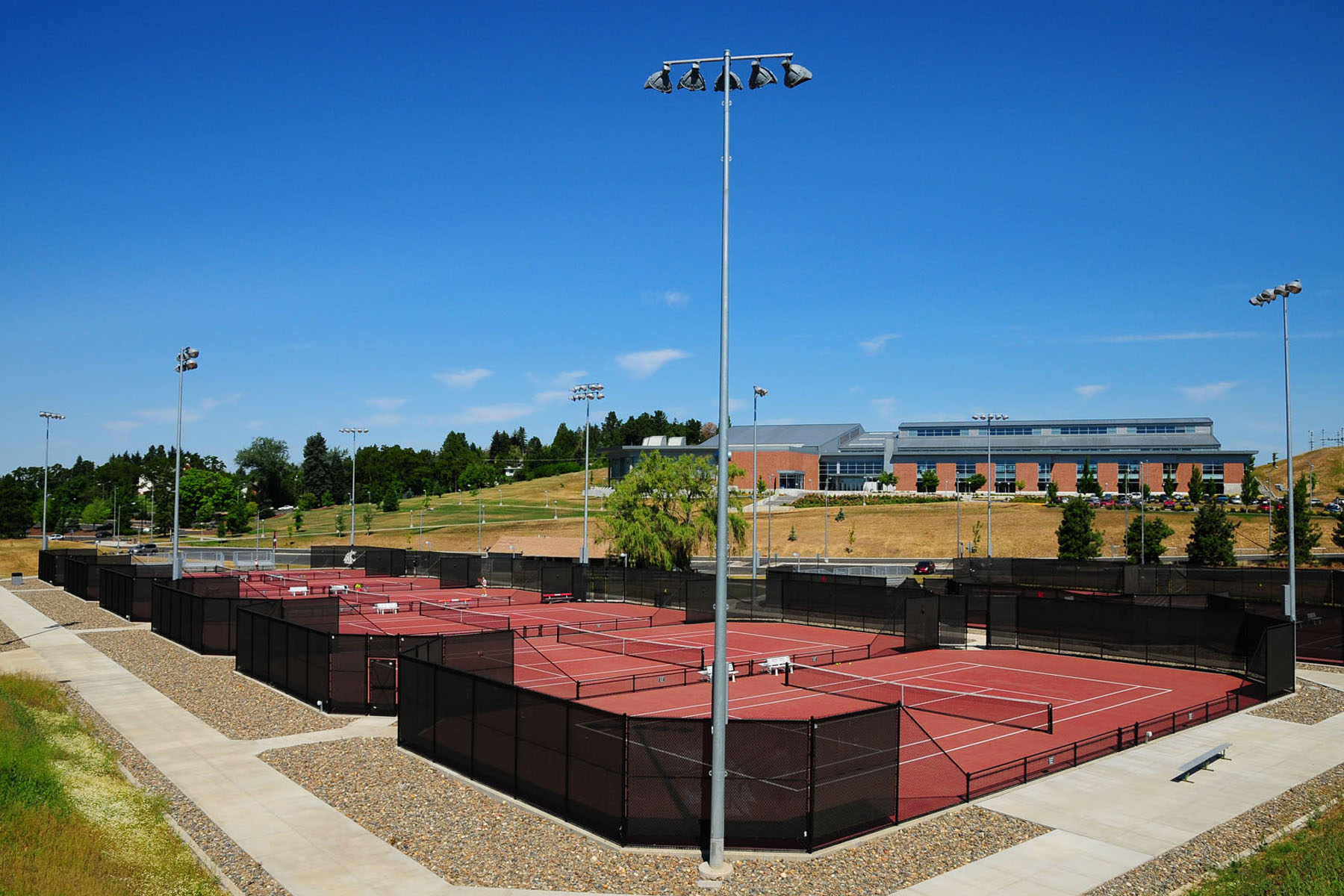 Washington State University <br/> NCAA/PAC 12 Conference Tournament <BR/> Outdoor Tennis Courts