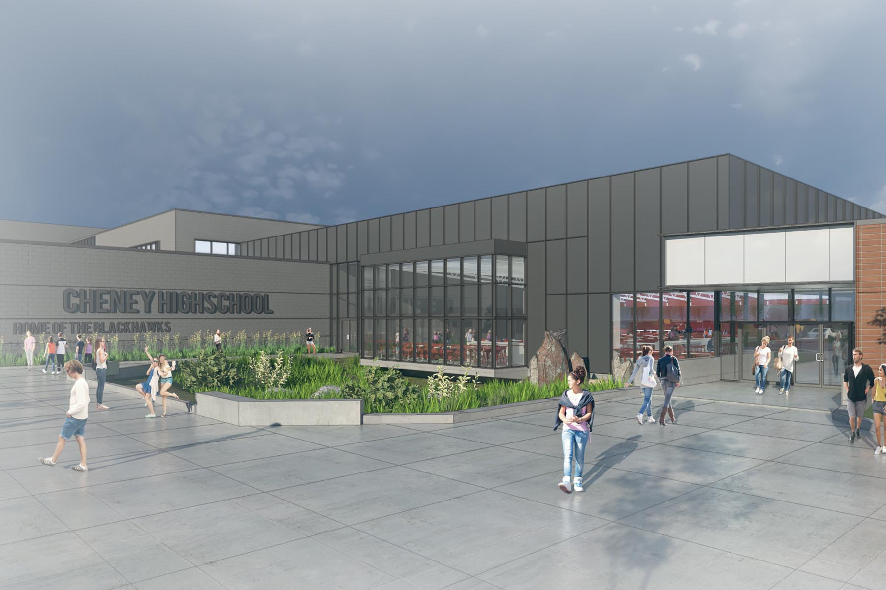 Cheney School District <br/> Renovation + Expansion <br/> (Cheney High School, Betz, Salnave, Sunset, and Windsor Elementary Schools)