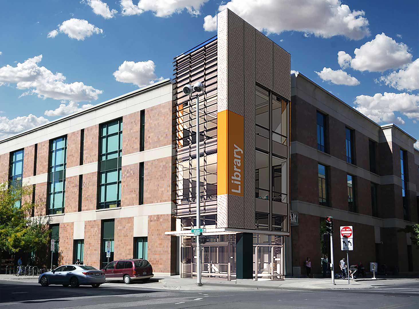 Spokane Public Library<br/>Downtown Renovation