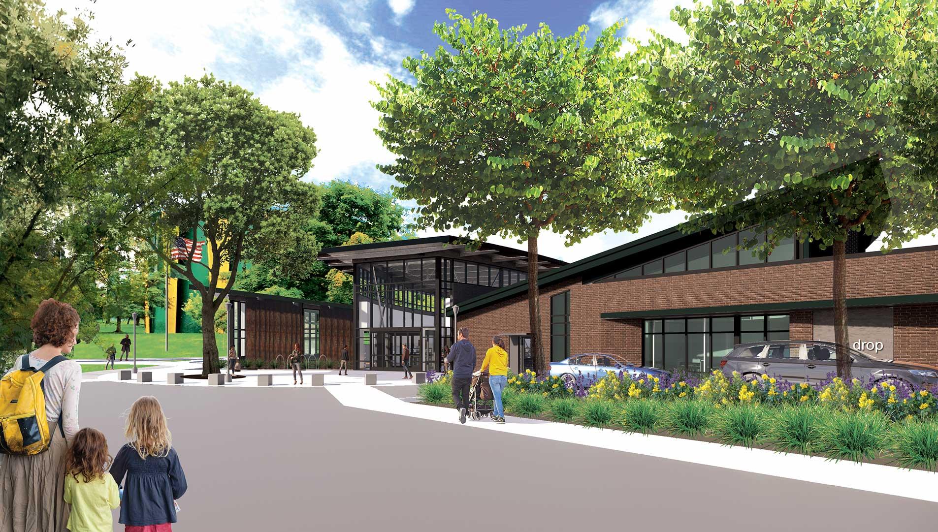 Spokane Public Library<br/>Shadle Park