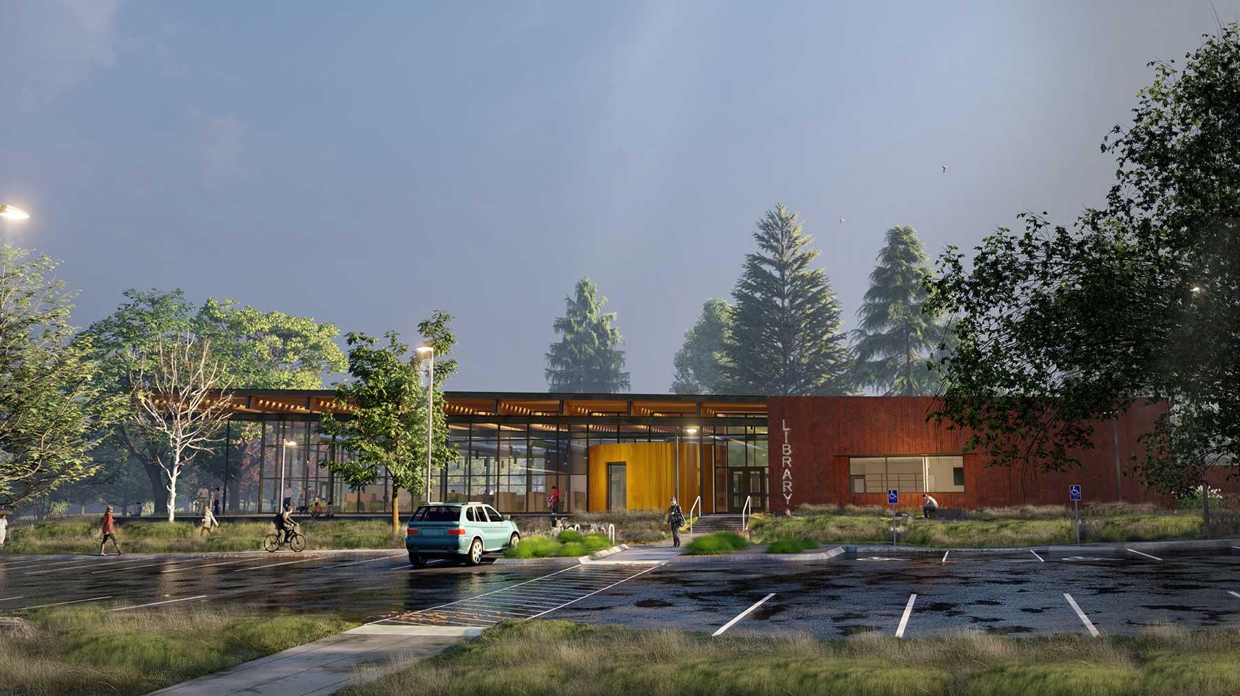 Spokane Public Library<br/>Liberty Park