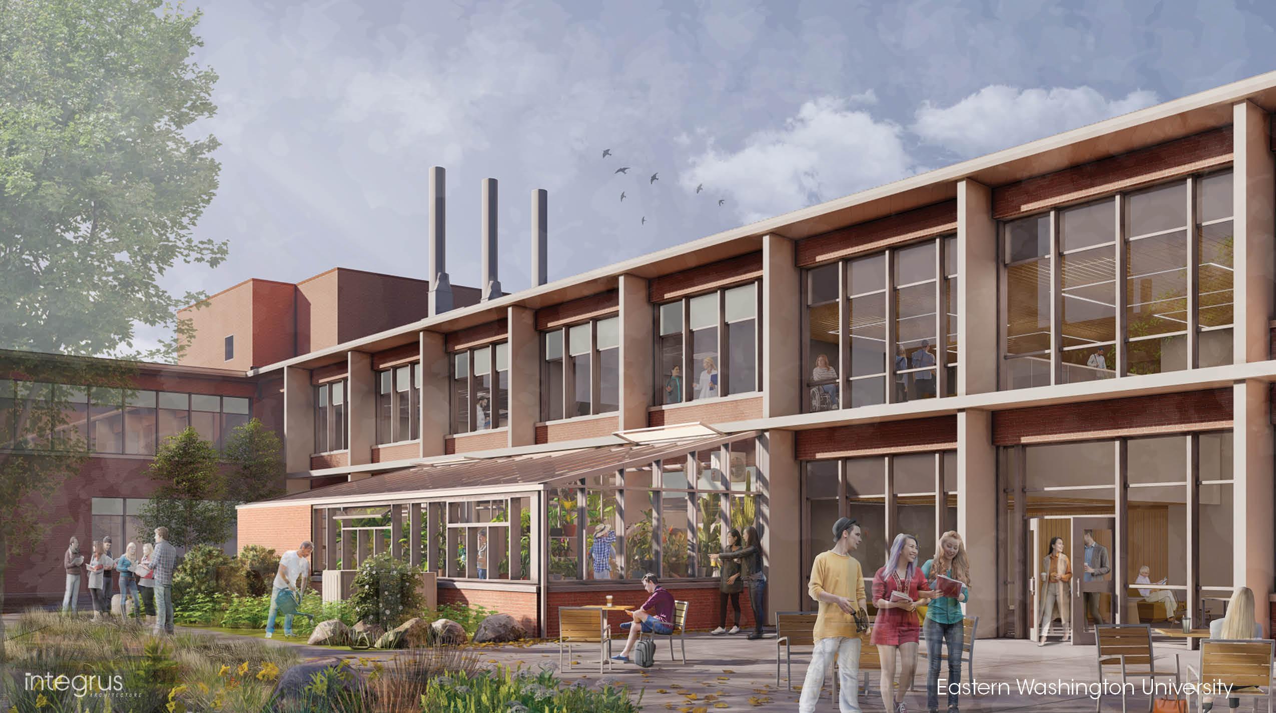 Eastern Washington University<br/>Science Building Renovation