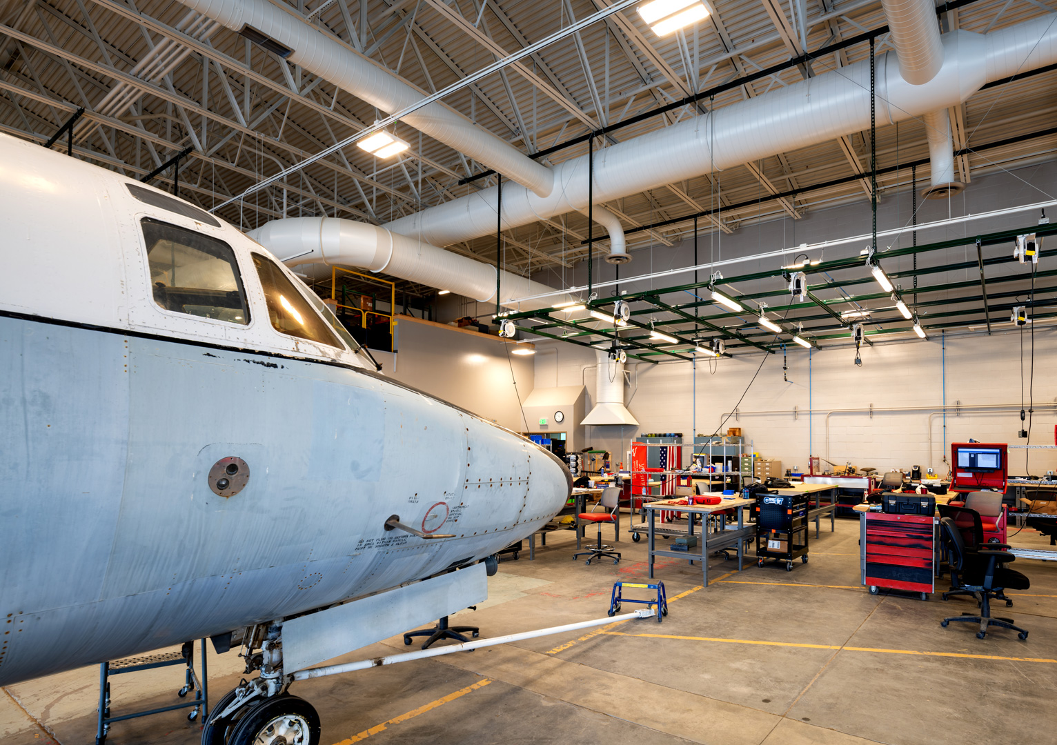 Big Bend Community College<br/>Aviation Maintenance Technology Center