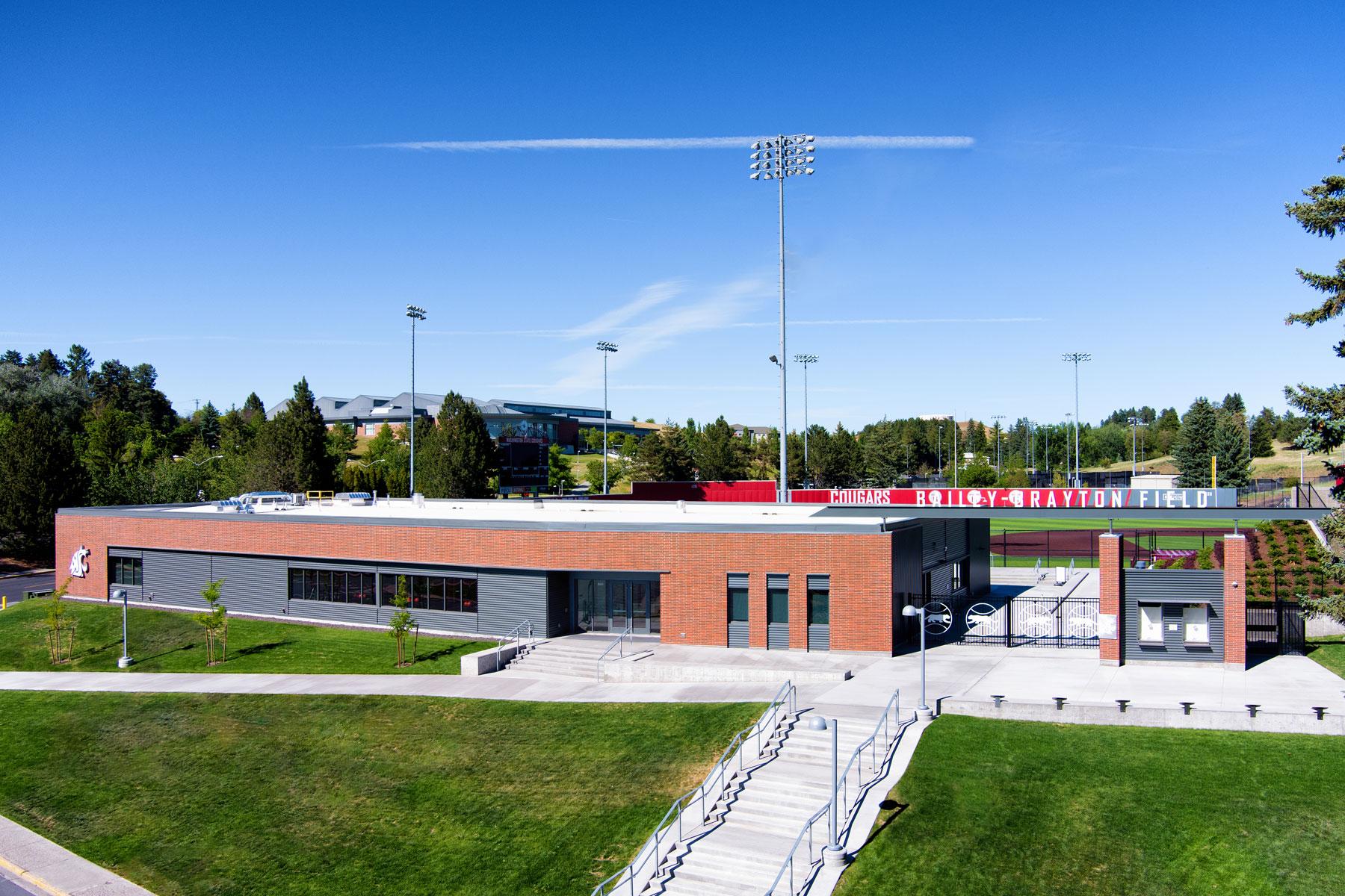Washington State University<br/>Baseball Clubhouse